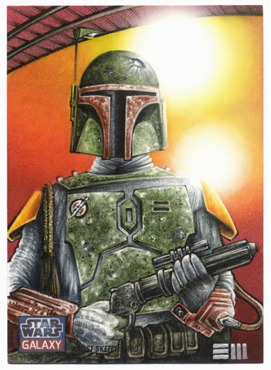 Boba Fett - Galaxy 7 Artist Proof by Erik-Maell
