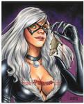 BLACK CAT - Spider-Man Archives Artist Proof