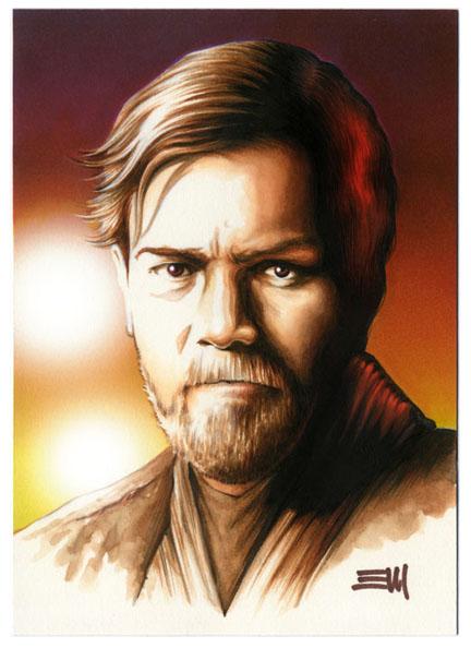 Obi-Wan Kenobi Charity Auction by Erik-Maell