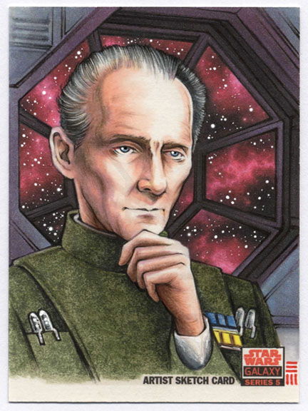 Star Wars Galaxy 5 Commission - TARKIN by Erik-Maell