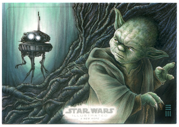Imperial Probe Droid Searches Dagobah By Erik Maell On Deviantart