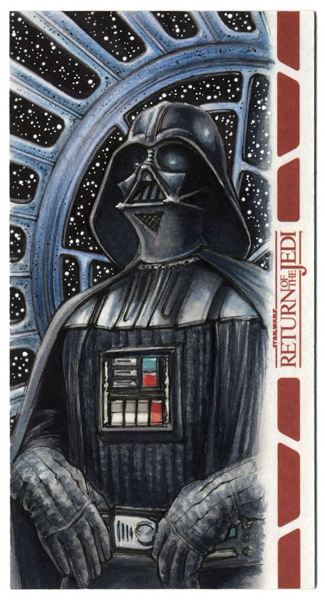 Darth Vader - RotJ WideVision Artist Proof by Erik-Maell