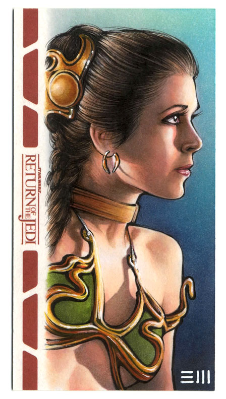 Slave Leia - RotJ WV Artist Proof by Erik-Maell