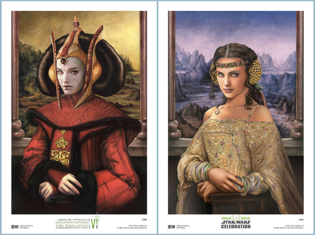 CVI and CVII Art Prints Side-by-Side by Erik-Maell