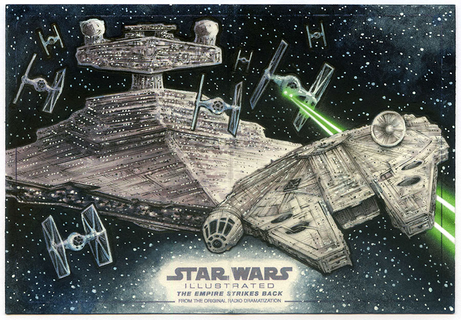 Pursuit of the Falcon - EMPIRE ILLUSTRATED AP by Erik-Maell