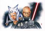 Anakin and Ahsoka - REBELS