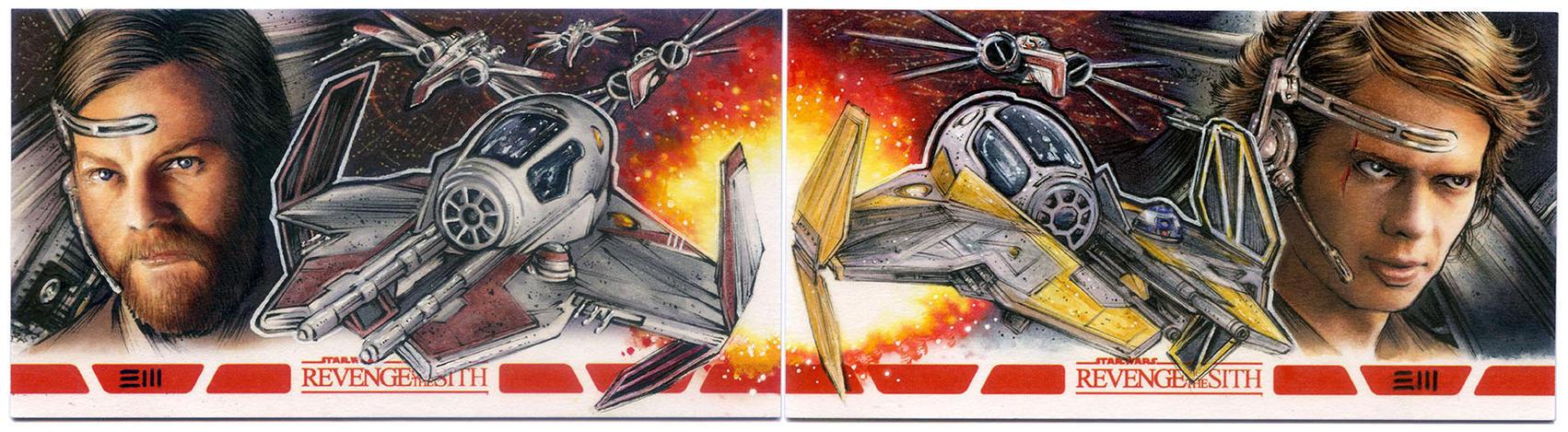 RotSITH Anakin and Obi-Wan APs by Erik-Maell