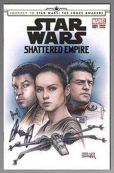 SHATTERED EMPIRE Sketch Cover Variant