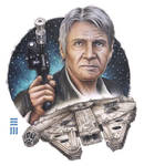 Han Solo - Commissioned Painting