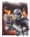 Captain Phasma - Commissioned Painting