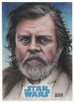 Luke Skywalker JtTFA Artist Proof Sketch Card