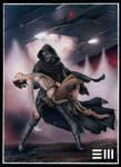 Rey's Abduction - Original Art by Erik-Maell