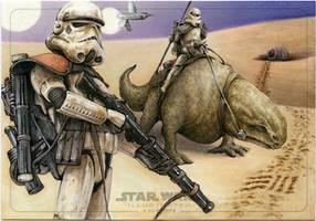 Sandtroopers on Patrol by Erik-Maell