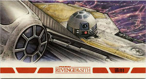 R2-D2 REVENGE OF THE SITH Artist Proof by Erik-Maell
