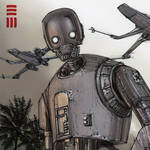 Rogue One - K2SO Sketch