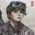 Rogue One - Jyn Erso Sketch