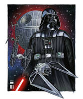 Rogue One - Darth Vader by Erik-Maell