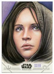 Jyn Erso Artist Proof by Erik-Maell