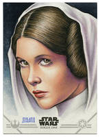 Princess Leia Artist Proof by Erik-Maell
