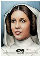 Princess Leia (CGI Version) Artist Proof by Erik-Maell