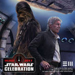 Han and Chewie SWCO2017 Detail