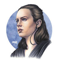 Rey Portrait Study by Erik-Maell