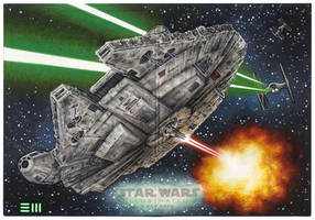 Star Wars Illustrated: A New Hope Panoramic AP by Erik-Maell