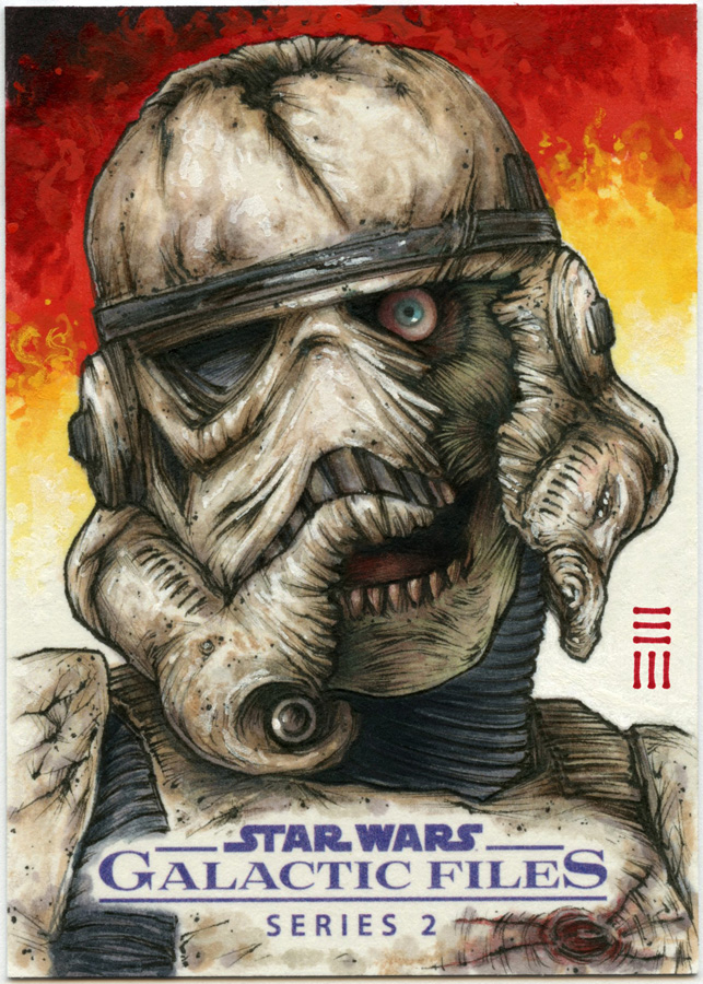 Zombie Death Trooper Commission by Erik-Maell