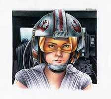 Rey - X-Wing Pilot