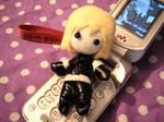 Mello Plushie phone strap