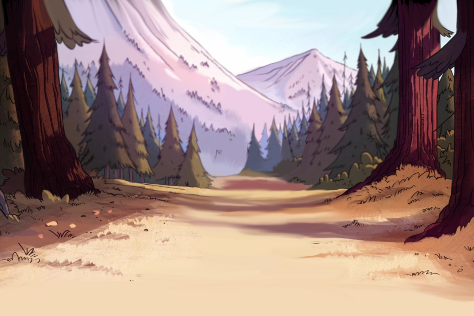 Going To Gravity Falls By The-Panda-Lover