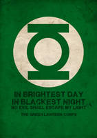 Green Lantern Corps by Mr-Sloow