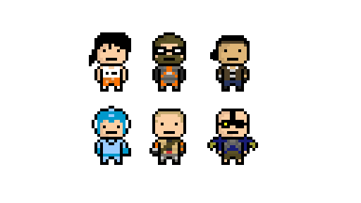 Old Game Sprites I Found by ZeoMaddox