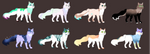 60 POINTS Cats adoption!! [OPEN 7/8] by IceChupps