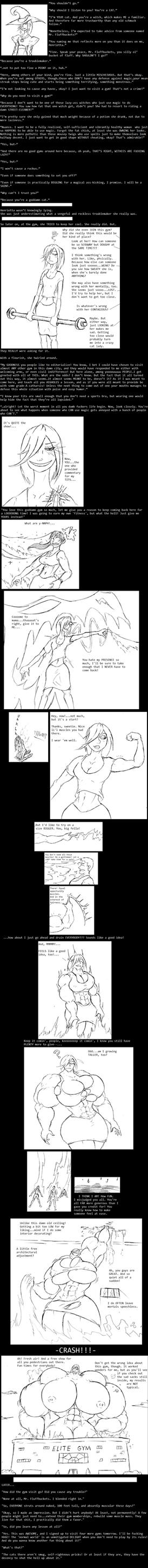Gym Drain by Saxxon