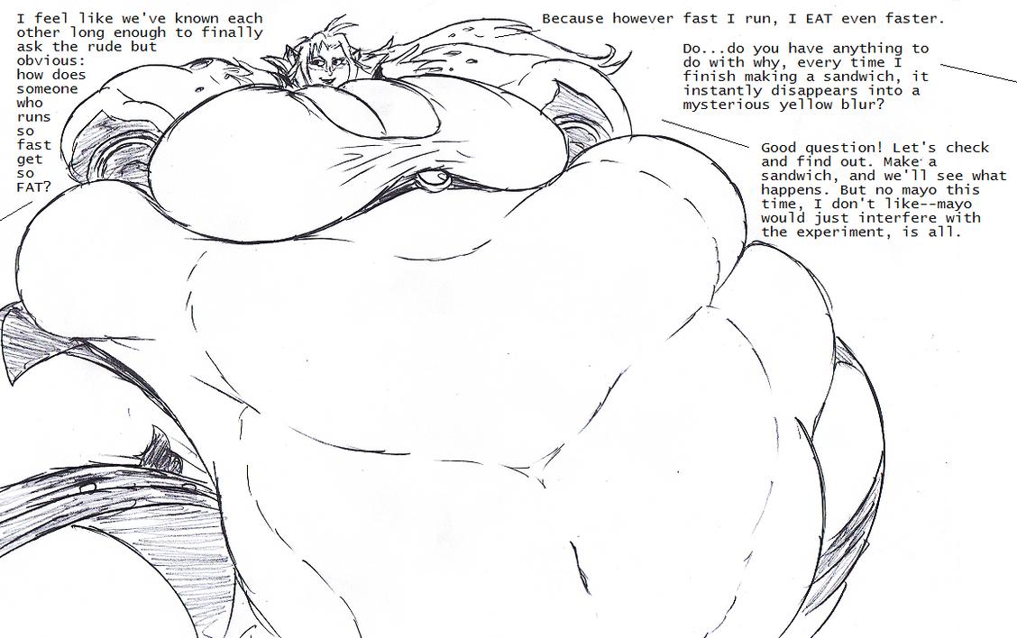 Cheetara, Fat but Fast by Saxxon