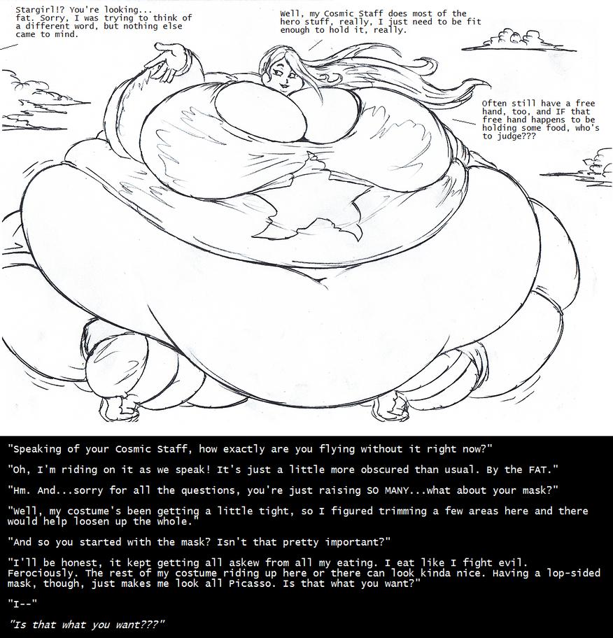 Stargirl Super-Sized by Saxxon
