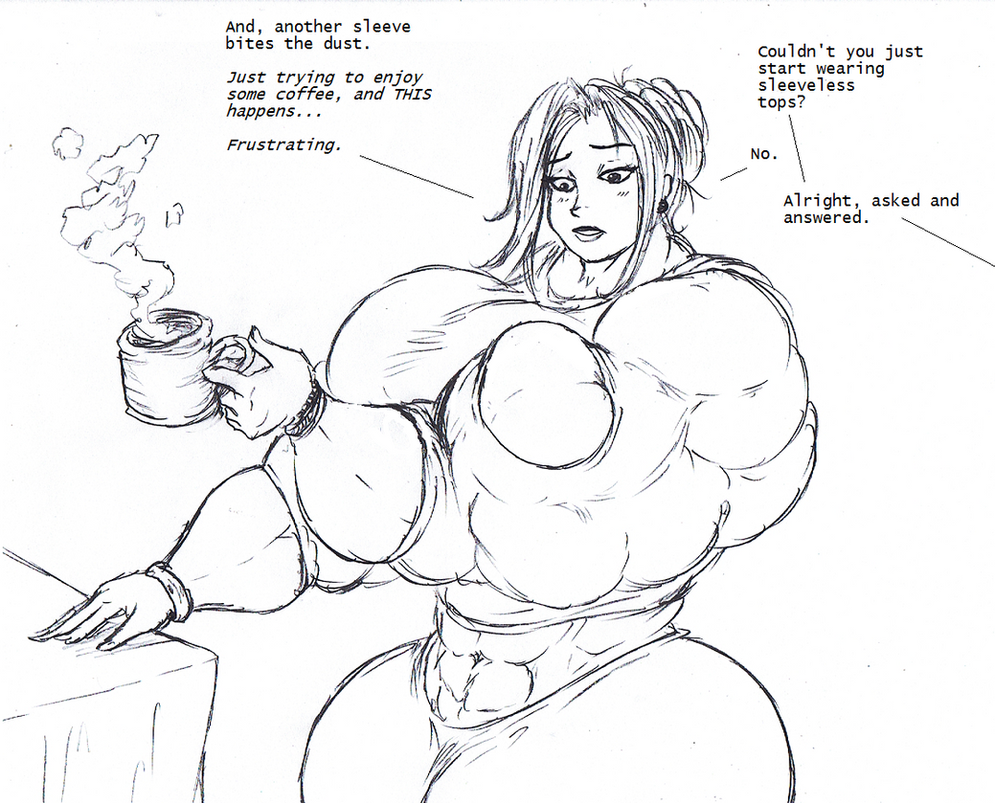 Strong Coffee by Saxxon