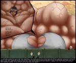 Mega-Muscle Mikasa IN COLOR