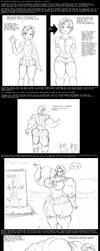 Strong Friendships (giantess/muscle growth) by Saxxon