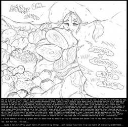 Princess Zelda: Face Of Gluttony