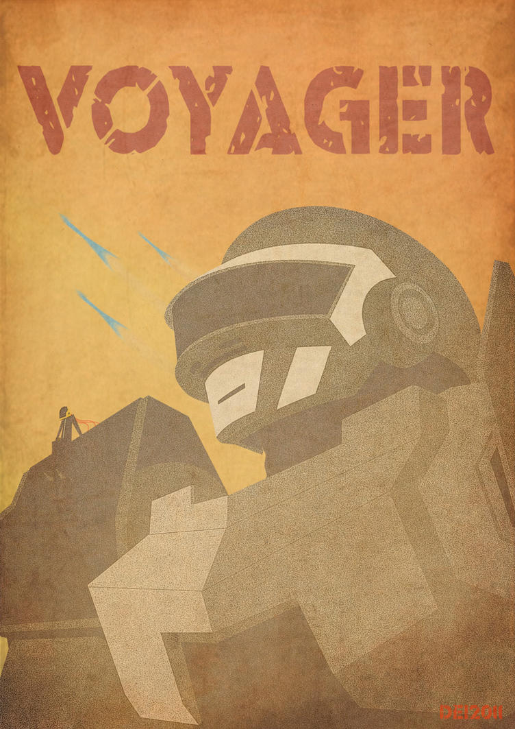 Voyager by DeidaraGS