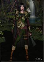 Elven Ranger by bastler