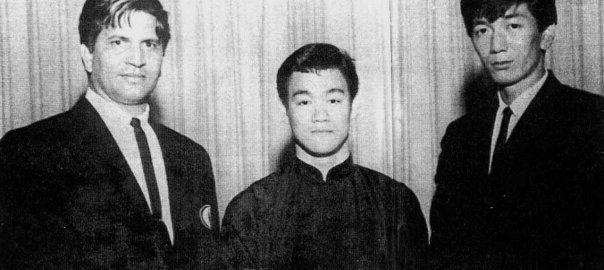 Ed Parker Bruce Lee And Grand Master Bill Ryusaki by Joker077