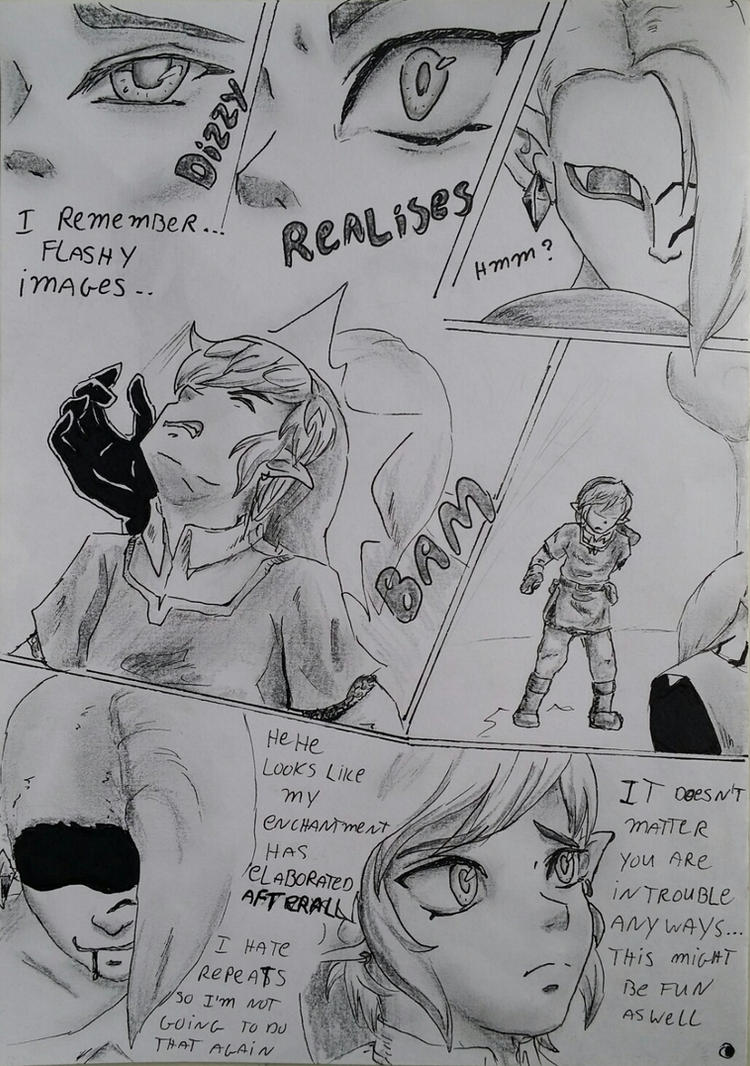 Ghirahim X Link 2 The Fire Sanctuary page 2 by heey1888
