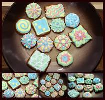 honey cookies by ruda-kun
