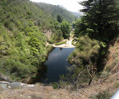 Waterfall Gully by Badooleoo