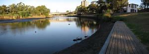 Drained River Torrens Lake 02 by Badooleoo