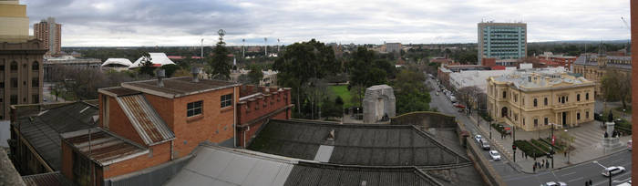 Adelaide City Life by Badooleoo