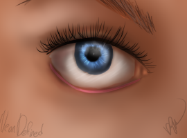 Realistic Eye Practice by NeonDefined